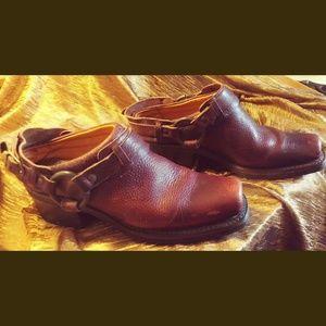 Frye Leather Mule